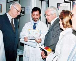 Renovado Convênio para Transplante de Medula