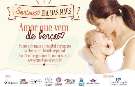 Sorteio Dia das Mães