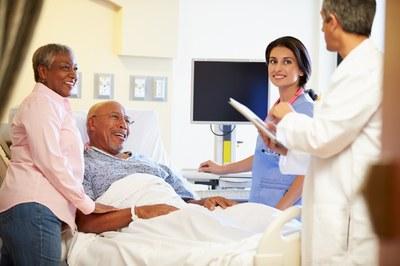 cuidado hospitalar