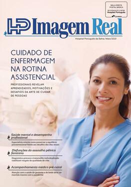 Revista Imagem Real Edição Maio 2021 - Cuidado da enfermagem na rotina assistencial